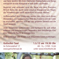 Flyer Friedenskonzert